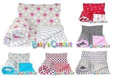 Baby's Comfort 4PCS baby bedding set DUVET & PILLOW + DUVET COVER & PILLOWCASE