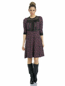 Vive Maria - Victorian Flower Dress  Kleid Gr. S 36