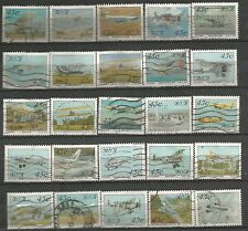 SOUTH AFRICA 1993 AVIATION AIRCRAFT AEROPLANES COMPLETE POSTALLY USED SET 1320