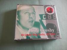 The Jazzin' Bing Crosby 1927-1940 2 CD set Very Good 1992 Charley Records