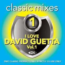 David Guetta Continuous Mix and Two Tracker Classic Mixes Ft Sia DMC DJ CD