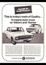 "1968 VE CHRYSLER VALIANT HILLMAN AD A4 POSTER GLOSS PRINT LAMINATED 11.7""x8.3"""