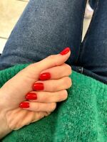 UV Gel Nail Polish | 15ml | 0.5 Fl. Oz | RED VELVET COLOR US Seller | FREE GIFT