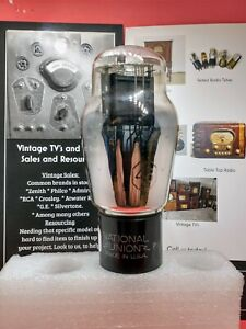 Vintage Nation Union Type 46 Vacuum Tube Precision 612 Tested