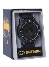 DC Comics Batman Bat Logo Bolt Face Wrist Watch Rubber Wristband