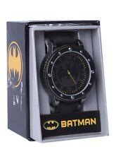DC Comics Batman Bat Logo Bolt Face Wrist Watch Rubber Wristband