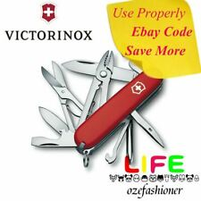 VICTORINOX Swiss Army Knife Deluxe Tinker 1.4723 Red 35697 IS
