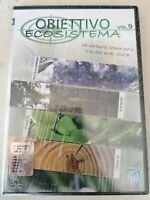 DVD documentario OBIETTIVO ECOSISTEMI vol.9 ROCCE MINERALI GIUNGLA PIANTE  nuovo