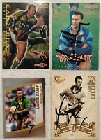 ✺Signed✺ 4 x Laurie Daley (Raiders) Lot of NRL Rugby League cards