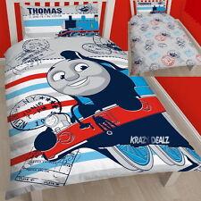 Thomas The Tank Engine Adventure Single Panel Duvet Cover Bed Set New Gift