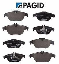 For Mercedes GLK250 13-15 GLK350 10-15 Front & Rear Disc Brake Pads KIT Pagid