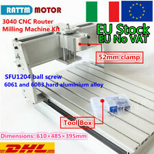 【IT】 Desktop 3 Axis 3040 Ball Screw CNC Router Milling Machine Frame+52mm Clamp