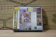 Sim City 2000 Simcity 2000 Sega Saturn SS Japan Brand New!