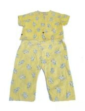 Vtg Baby Toddler 2-Pc Set Top Bottoms Lamb Wash n Ready Snaps Unisex Outfit