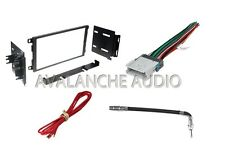 Car Stereo Double Din In Dash Trim Installation Kit For New CD Player Receiver