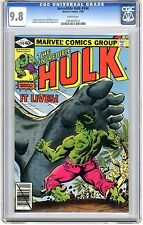 Incredible Hulk #244 CGC  9.8 NMMT  wht pgs It, the Living Colossus App 2/80 A.M