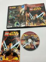Sony PlayStation 2 PS2 Tested Complete CIB LEGO Star Wars: The Video Game