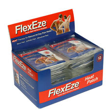 20 x Flexeze Heat Patches ~ Physio Recommended