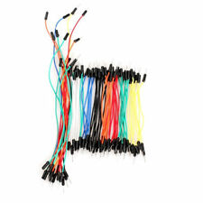 65Pcs Solderless Breadboard Flexible DuPont Male-Male Jumper Cables Wires US
