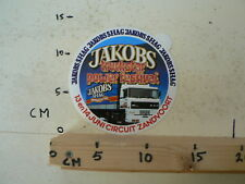 STICKER,DECAL DAF 3600 ATI JAKOBS TRUCKSTAR POWER FESTIVAL SHAG ZANDVOORT A