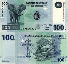 CONGO - 100 francs 2007 FDS - UNC