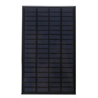 18V 2.5W Universal Solar Panels Mini Solar Cells Polycrystalline Silicon DIY