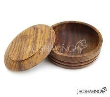 wooden shaving Soap Bowl for shaving soap