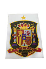 SPAIN COUNTRY FLAG X - LARGE STICKER .. 8.25 X 11.75 INCH