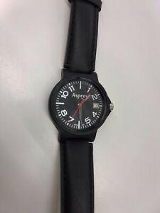 Asprey Black Matt Men's Watch