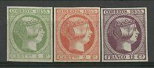 ESPAÑA año 1853. ISABEL II EDI- N.19-20-18.COPIA- REIMPRESION. .DE LUJO.