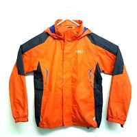 Regatta Mens Hiking Jacket Orange and Navy Size S/M Isotex 5000 Hooded