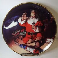 """""""A Coke and a Smile"""" Coca-Cola Collector Plate from the Franklin Mint 1994"""