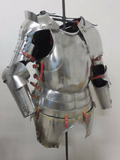 Medieval Collectible Gothic Suit of Armour SCA Larp Breastplate Warrior Costume