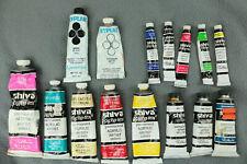 New ListingLot of Acrylic Paint (Shiva, Hyplar Grumbacher)