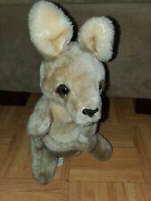 Vintage 1982 Dakin Kangaroo Plush Stuffed Animal Pouch