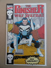 Punisher War Journal  41 . J.R jr Cover . Marvel 1992 . VF - minus