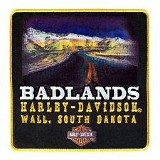 Badlands Harley-Davidson Road Sew On Emblem Patch