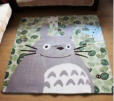 Totoro Coral Doormat Carpet Blanket Anti slip Anime Baby Creep Rug 185CM*185CM