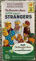 The Berenstain Bears Learn About STRANGERS Double Feature VHS Vintage RARE OOP
