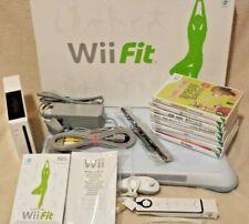 Nintendo Wii Console & Wii Fit Balance Board & Games Joblot Bundle Motion Plus