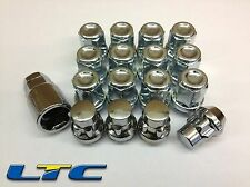 12 * 12x1.5mm 12x1.5 Tapered Alloy Steel Wheel Nuts + 4 Locking Lock Nut Bolts