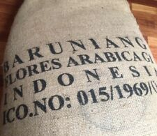 SALE!! 5 Pounds Green Coffee Beans Flores Wae Rebo Grade 1 Indonesia Sumatra