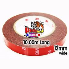 3M Genuine Double Sided Tape ( Automotive Grade ) - 12mm x 10m Long