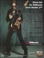 Steve Vai Modern Primitive Ibanez Jem Dark Matter 2 DiMarzio guitar pickups ad
