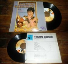 SUZANNE GABRIELLO - Charlie French EP Sixties Pop Barclay 68'