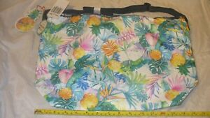 MIP Lesportsac Uluwehi Easy Carry Tote Lauren Roth Hawaii Boutique Exclusive