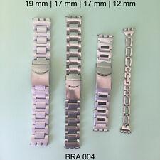 SWATCH IRONY BRACELETS BANDS STRAPS ORIGINAL VINTAGE - LOT OF 4 - BRA004
