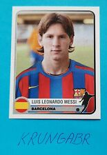 🔥LIONEL MESSI 🔥 ROOKIE PANINI CHAMPIONS OF EUROPE 2005 Excellent  RARE