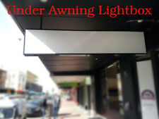 Lightboxes,Under Awning Light Box 1800x500x150mm, 3 row= 6 lights, WHT