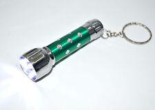 Mini 1200LM Portable 7*LED Flashlight Aluminum Keychain Key Ring Chain Free